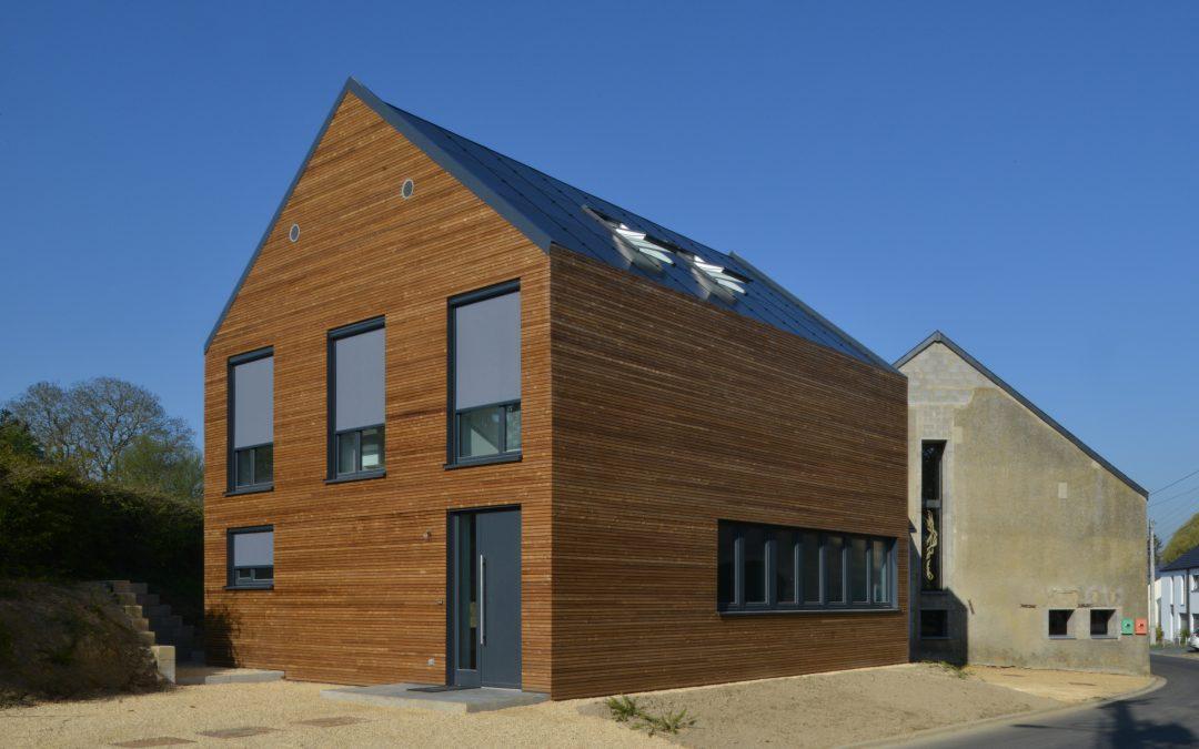 Maison à énergie positive – Autelbas